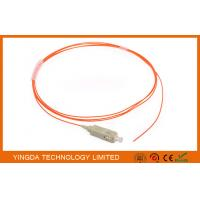Wholesale Fiber Optic Pigtail SC PC Mulitmode MM 62.5 / 125 um Simplex 0.9mm 1.5 Meter from china suppliers
