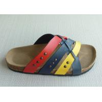 Wholesale Causal Men Cork Sandals , 39-46 Size Summer Textile Comfortable from china suppliers