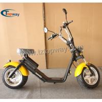 Wholesale 40-60km Range Per Charge and 60v Voltage citycoco e-scooter from china suppliers