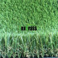 Buy cheap V Shape Long Life Garden Artificial Grass 4 Color No Abrasion Garden Fake Grass from wholesalers