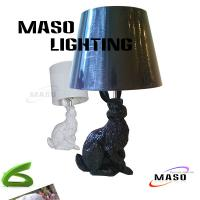 Wholesale Modern Resin Aniaml Table Lamp Rabbit Stand MS-T3003 CE approval Wire E27 Base from china suppliers