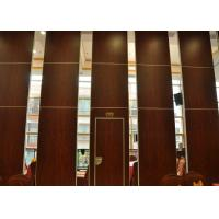 Wholesale Folding Door Movable Partition Walls ,  Vinyl Partition Wall For Meeting Room from china suppliers