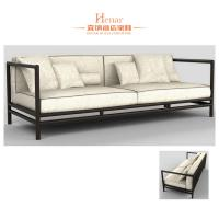 Wholesale Modern Living Room Hotel Fabric Sofa With Cushion Traditional Asia Style from china suppliers