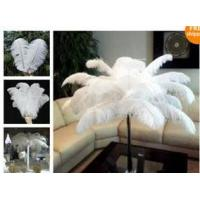 """China Ostrich Feather Centerpiece with 24"""" Eiffel Tower Vase on sale"""