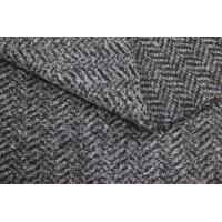 Wholesale Polyester Acrylic Wool Blended Fabrics , Sheepskin Fleece Jacket Faux Fur Cloth from china suppliers