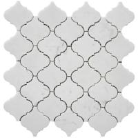 "Wholesale Carrara white lantern shape mosaic tile 12x12"" from china suppliers"