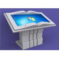 Quality 46 Inch Book Design Digital Kiosks Touch Screen X86 System Long Lifetime for sale