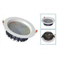 Wholesale IP40 Recessed Dimmable Led Downlights High Efficiency 100mm / 120mm from china suppliers