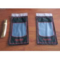 Buy cheap Moisture Proof Plastic Cigar Packaging Bag With Resealable Ziplock from wholesalers