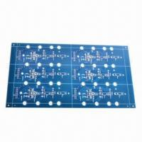 Wholesale Blue Solder Mask PCB Laminate, Made of FR4, Suitable for CCTV from china suppliers