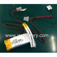 Wholesale Rechargeable Lipo Curved Battery for fitness bands,watch,sports wearable,wrist straps from china suppliers