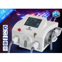 Wholesale SHR OPT Hair Removal Machine , Multifuntional Double Handle Hair Removal Beauty Machine from china suppliers