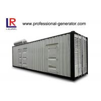 Wholesale Self - exciting Container Genset 1200 kw Container Type Silent Diesel Genset from china suppliers