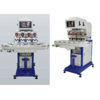Wholesale 4 Colors Ink Cup Pad Printing Machine For Sticker / Plastic Cup from china suppliers
