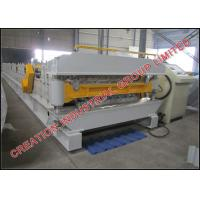 Wholesale Double Layer Aluminium Long Span and Metcopo Steptiles Roofing Sheet Corrugating Machine from china suppliers