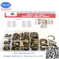 Buy cheap Medium Carbon Steel Bsp Bonded Seal for Hydraulic Fitting Adapter from wholesalers