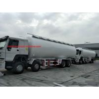 Wholesale Sinotruk Howo 6x4 336 Hp Bulk Cement Truck For Tansport Powder 20m3 With Air Compressor from china suppliers