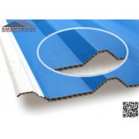 Wholesale Outside Layer Thickness 1.1mm Corrugated Plastic PVC Hollow Sheet  10.0mm Thick from china suppliers