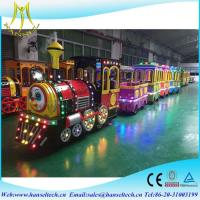 Wholesale Hansel Outdoor Amusement Park Children Kids Ride Electric Monorail Train For Sale from china suppliers