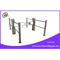 Wholesale High Speed Automatic Supermarket Barrier Swing Gate Turnstile With Guardrail from china suppliers