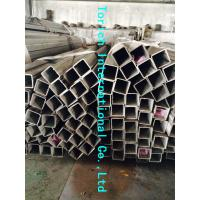 Wholesale Rectangular Welded Steel Tube , ASTM A554 Welded Stainless Steel Mechanical Tubing from china suppliers