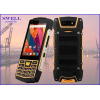 Wholesale Dual Sim Rugged quad core SmartPhone , outdoor cell phone Rear 5.0MP Camera from china suppliers