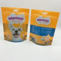 Wholesale Sealable Stand Up Pet Food Bag Packaging For Dog Treats PET / PE Material from china suppliers
