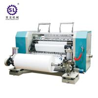 Wholesale SLFQ PLC Conrol Automatic Slitting Machine for Paper and Plastic Film from china suppliers