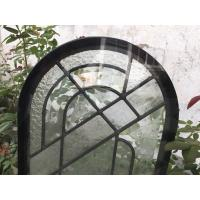 Wholesale Round Top Architectural Decorative Panel Glass , Solid Flat Tempered Glass Panels from china suppliers