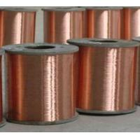 Wholesale durable flat enameled copper wire Gold plating metal steel wire from china suppliers