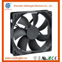 Quality 120x120x25mm 12V 24V 48V industrial exhaust fan For Car Pillow for sale