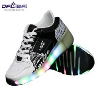 Wholesale New style comfortable led light up kids roller skate shoes from china suppliers