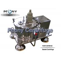 Wholesale 800mm Automatic Plate Salt Centrifuge , Scraper Bottom Discharge Liquid Centrifuge from china suppliers