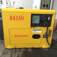 Wholesale KDE8600T Four Wheels Compact Diesel Generator Industrial 3600 Rpm Engine Speed from china suppliers