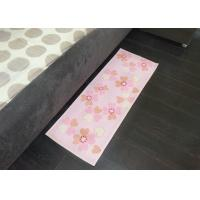 Wholesale Comfortable Natural cotton decorative kitchen floor mats , Cute pink heart shape from china suppliers
