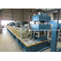 Buy cheap Two Waves Highway Guardrail Cold Roll Forming Machine HRC58-60 hardness from wholesalers