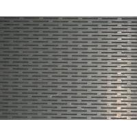 Wholesale Rectangular Shaped Perforated Stainless Steel Sheet Hairline Finish For Screen Decoration from china suppliers