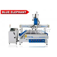 Wholesale Pneumatic system Multi - Head CNC Router , cnc wood router automatic 3d with 4 axis rotary 1530 from china suppliers