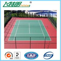 Wholesale PU Sports Court Flooring Synthetic Tennis Court / Basketball Court / Badminton Court for Ourtdoor or Indoor from china suppliers