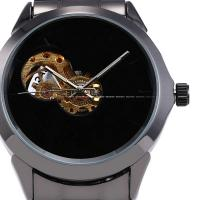Wholesale Transparent Auto Mens Wrist Watches Mechanical With Stainless steel Case from china suppliers