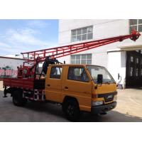 Wholesale Hydraulic Chuck Truck Mounted Portable Drilling Rigs For Blast Hole , Exploring Gas from china suppliers