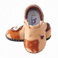 Wholesale Soft sole leather baby shoes, breathable  from china suppliers