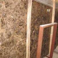 Quality Dark Emperador Marble Slab (LY-339) for sale