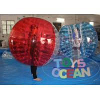 Wholesale 1.0mm PVC Inflatable Bumper Ball Soccer Bubble For Football Game 1 Year Warranty from china suppliers