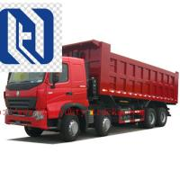 Quality Diesel Heavy Duty Dump Truck Payload 30 Tons 10 Wheels Hyva 16m3 Bucket for sale