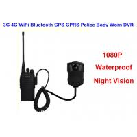 Buy cheap Wearable IP68 Law Enforcement Body Camera For Security Officers , ABS Material from wholesalers