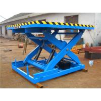 Wholesale 1000kg Stationary Scissor Lift Heavy duty design meet EN norm and ANSI / ASME from china suppliers