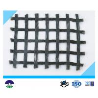 Wholesale Strength plastic Biaxial Geogrid 300G For Protective Soil , Black from china suppliers
