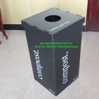 China water proof Polypropylene Corrugated plastic box for trash bin for sale