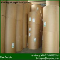China C2S Coated Art Paper For Digital Printing Machine on sale